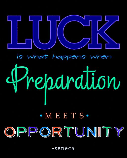 Quote Success Is When Preparation Meets Opportunity: Inspiring Quotes: Inspiring Words By Seneca