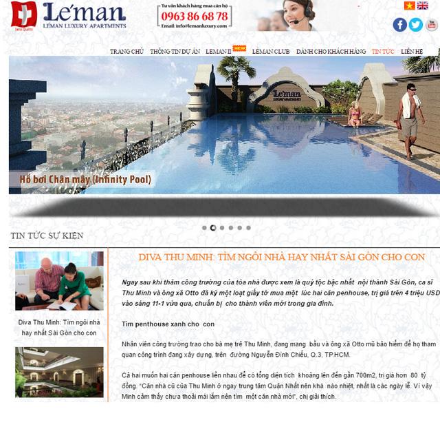 Trang thông tin của Léman Luxury Apartments