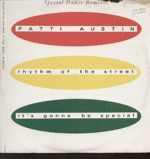 Sucessos De Sempre Patti Austin Rhythm Of The Street