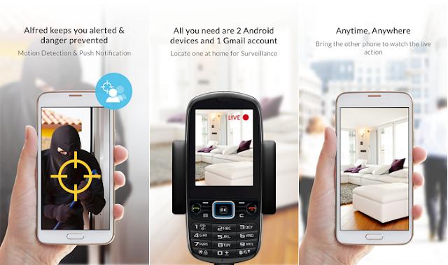 كيف تحول هاتف الأندرويد إلى كاميرا مراقبة مع Home Security Camera
