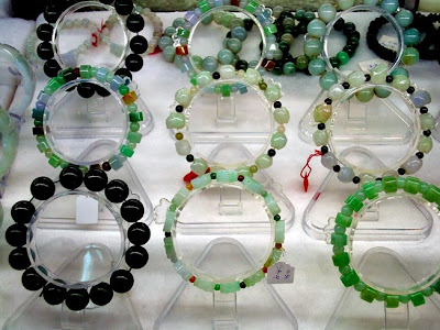 beautiful bracelets with various colors
