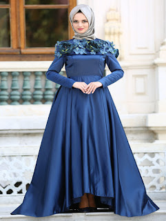 baju pesta muslimah casual