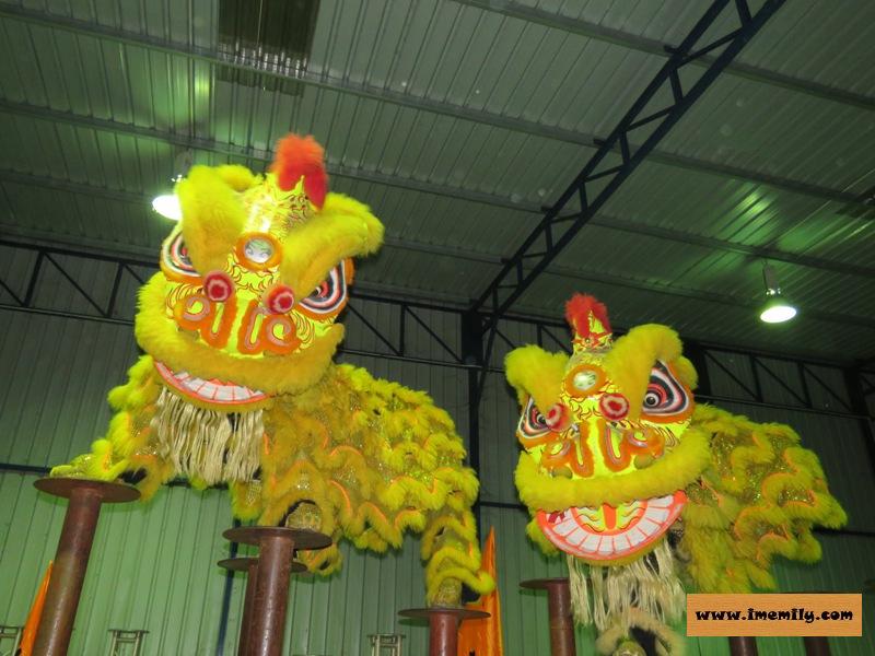 Master Siow :Lion Dance