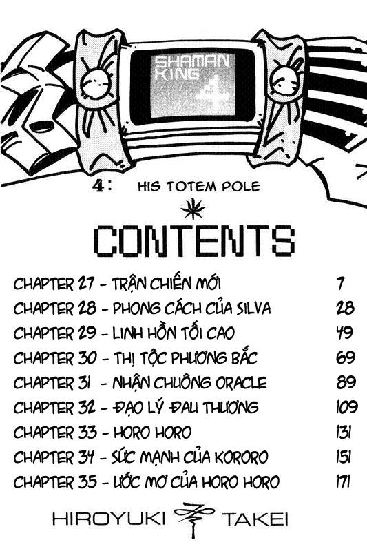 Shaman King [Vua pháp thuật] chap 27 trang 2
