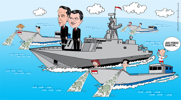 Jokowi ingin Indonesia jadi Poros Maritim Dunia