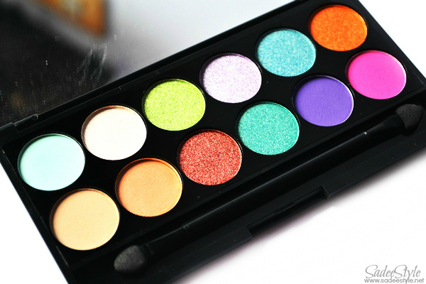 Sleek i-Divine Snapshots Palette (Swatches, Review & EyeLook)