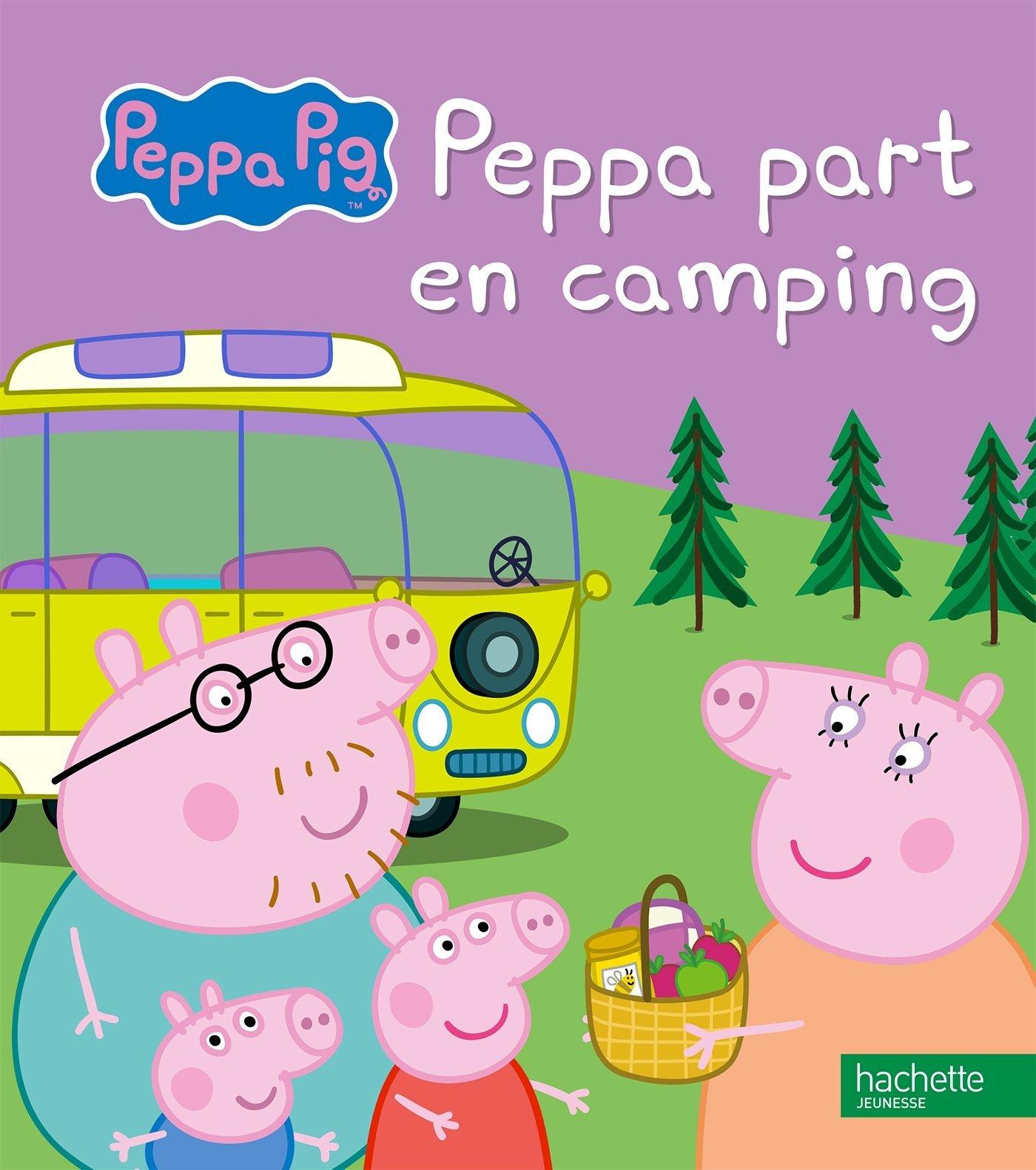 Les mercredis de julie peppa part en camping - Jeux de papa pig ...