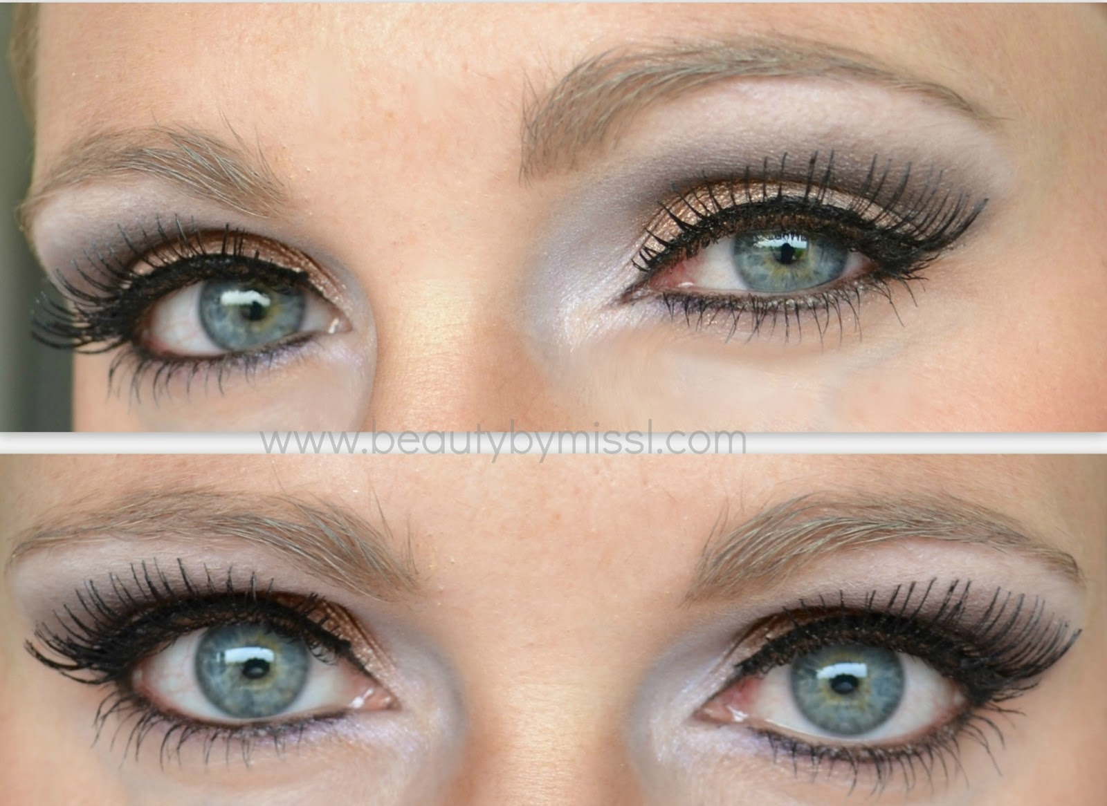 eotd, eye makeup with false lashes