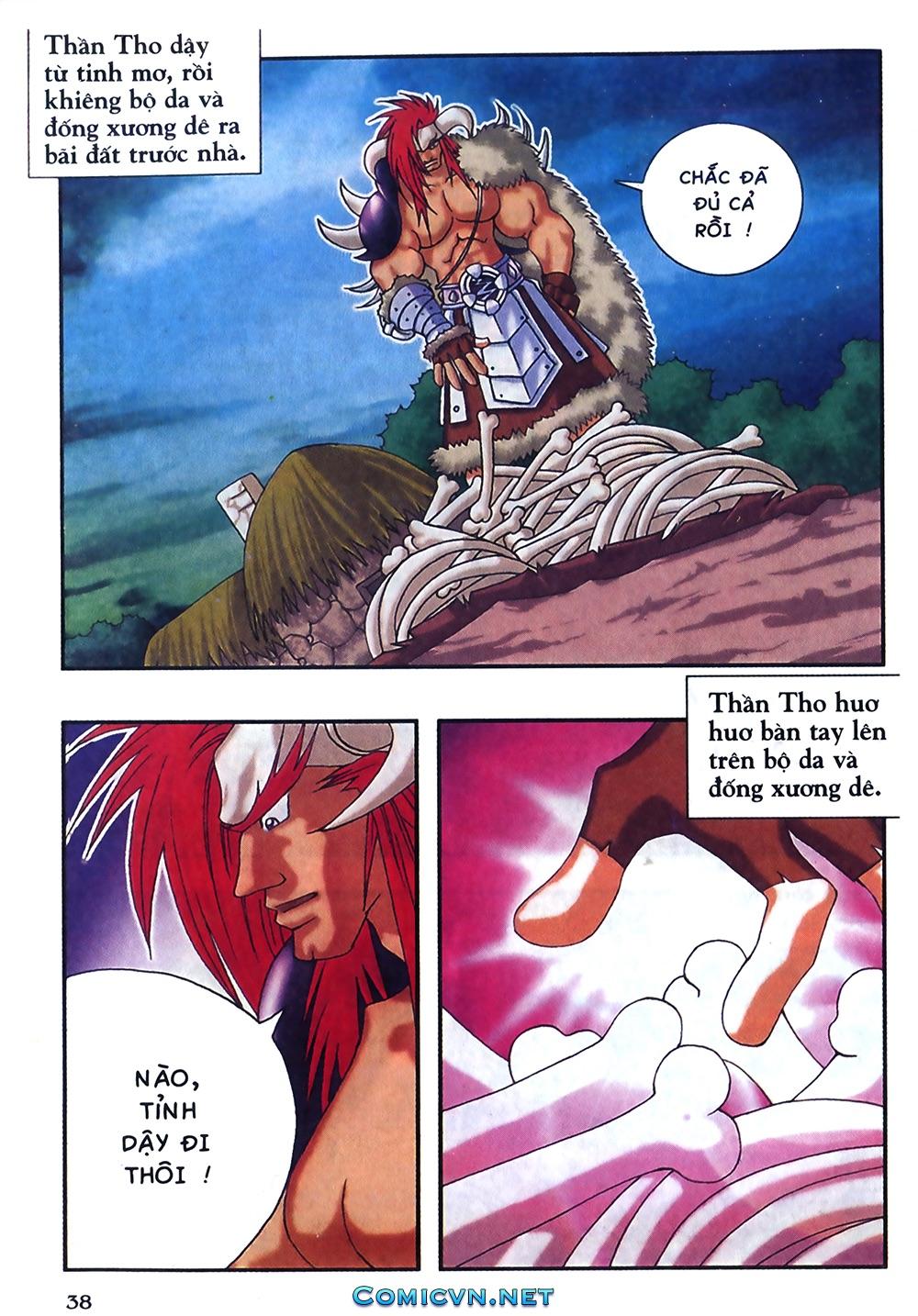 Thần thoại Bắc Âu - Chapter 18: Thần sấm sét - Pic 39