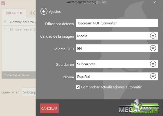 Icecream PDF Converter Pro 2.69 imagenes