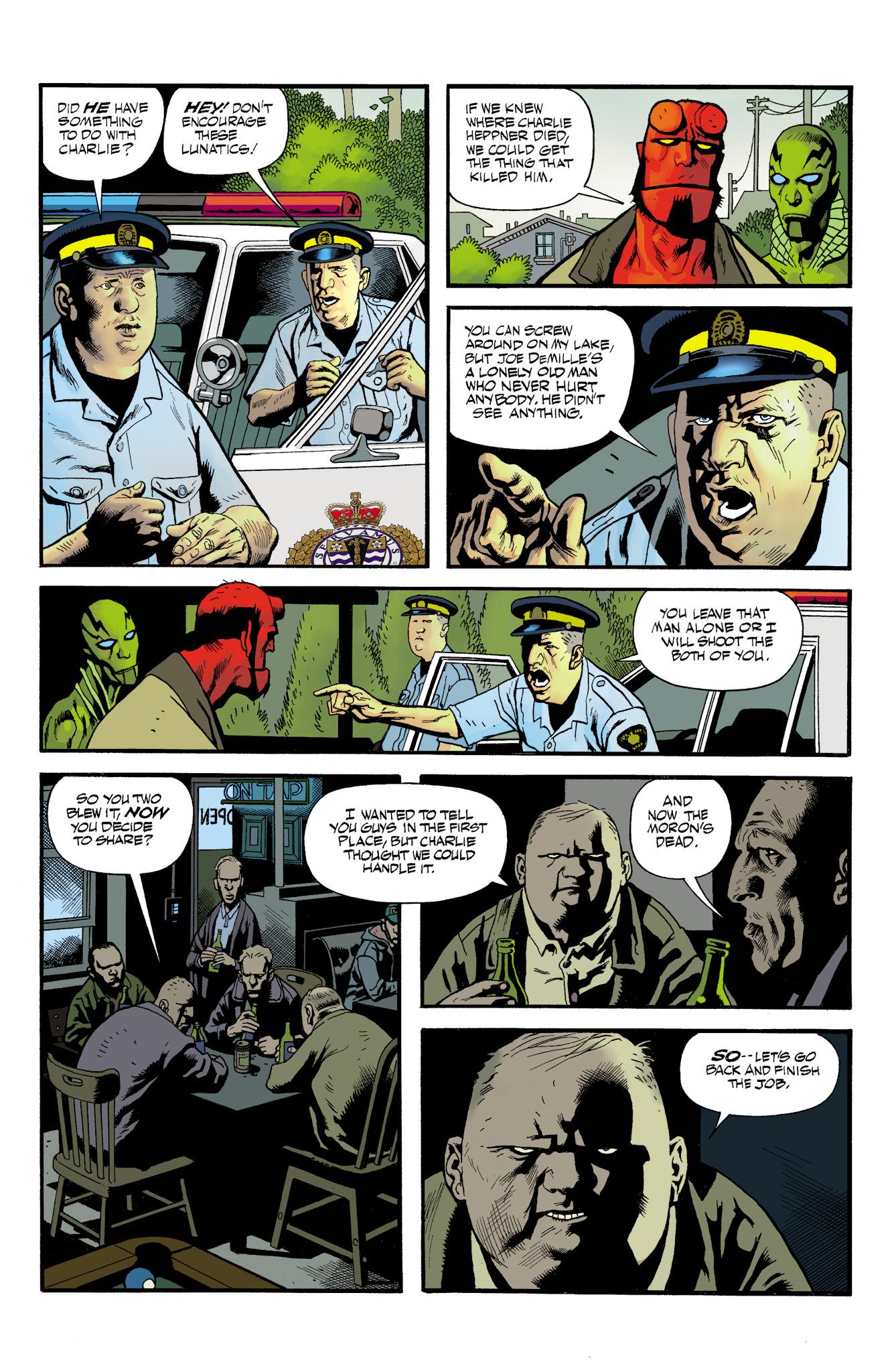 Read online Abe Sapien comic -  Issue #23 - 16