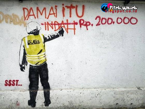 Inilah 5 Mental Dan Citra Negatif Polisi Indonesia