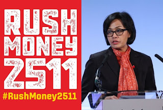 Sri Mulyani tanggapi RushMoney2511