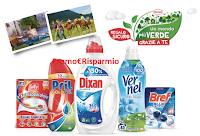 Logo Henkel ''Un mondo più verde grazie a te 2018'': voucher come premio certo per esperienza nel verde