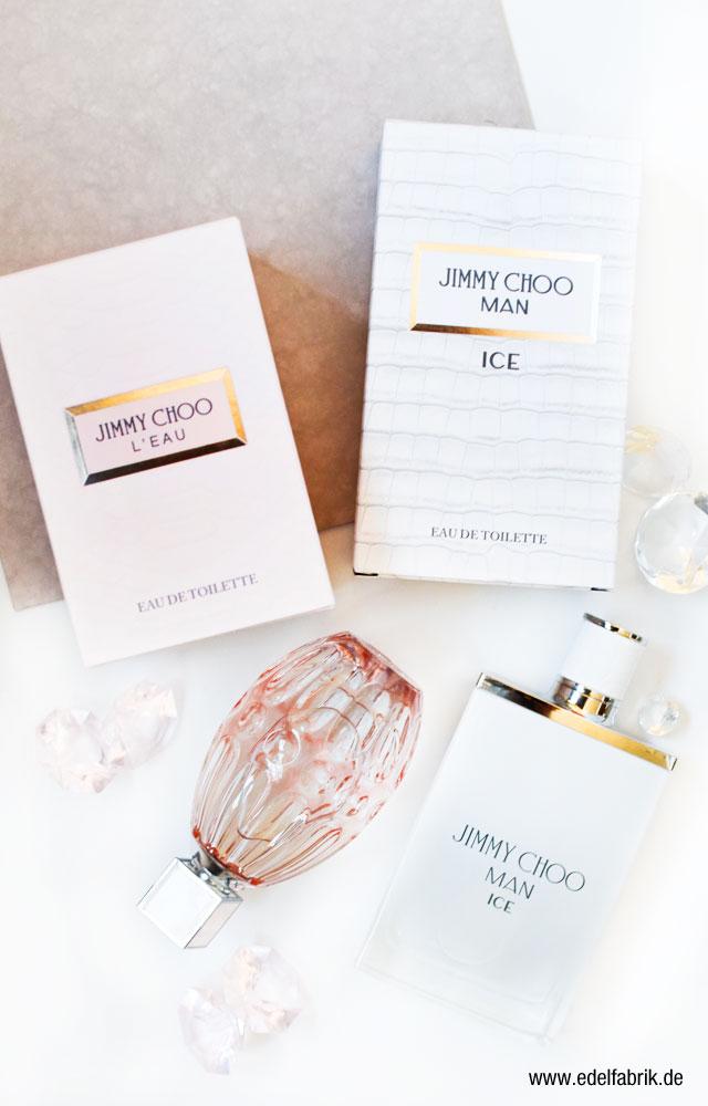 Jimmy Choo neue Düfte für Männer und Frauen, Man Ice, L'Eau