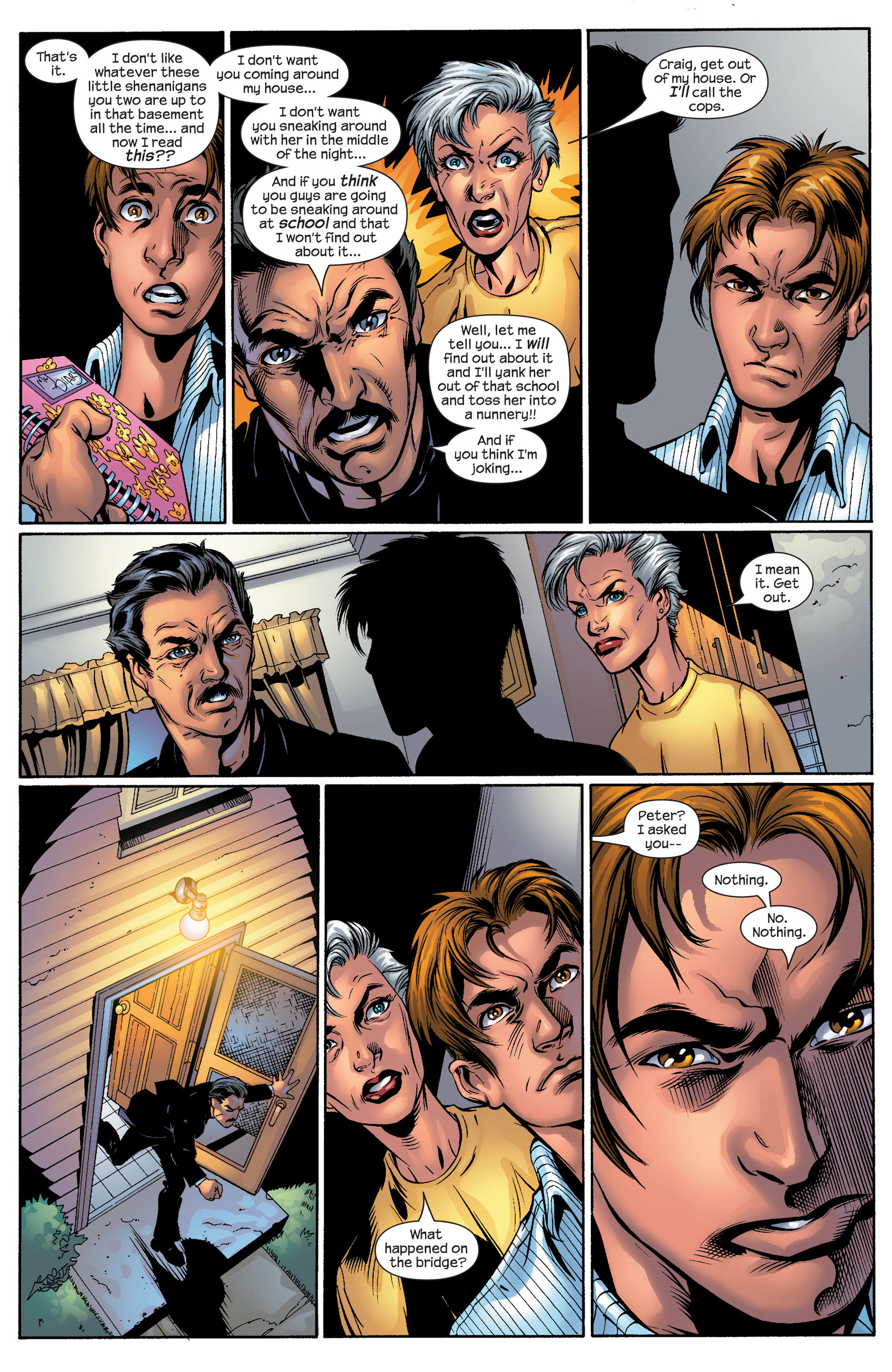 Read online Ultimate Spider-Man (2000) comic -  Issue #50 - 32