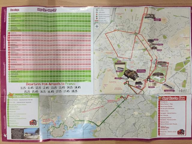 atina otobüs haritası