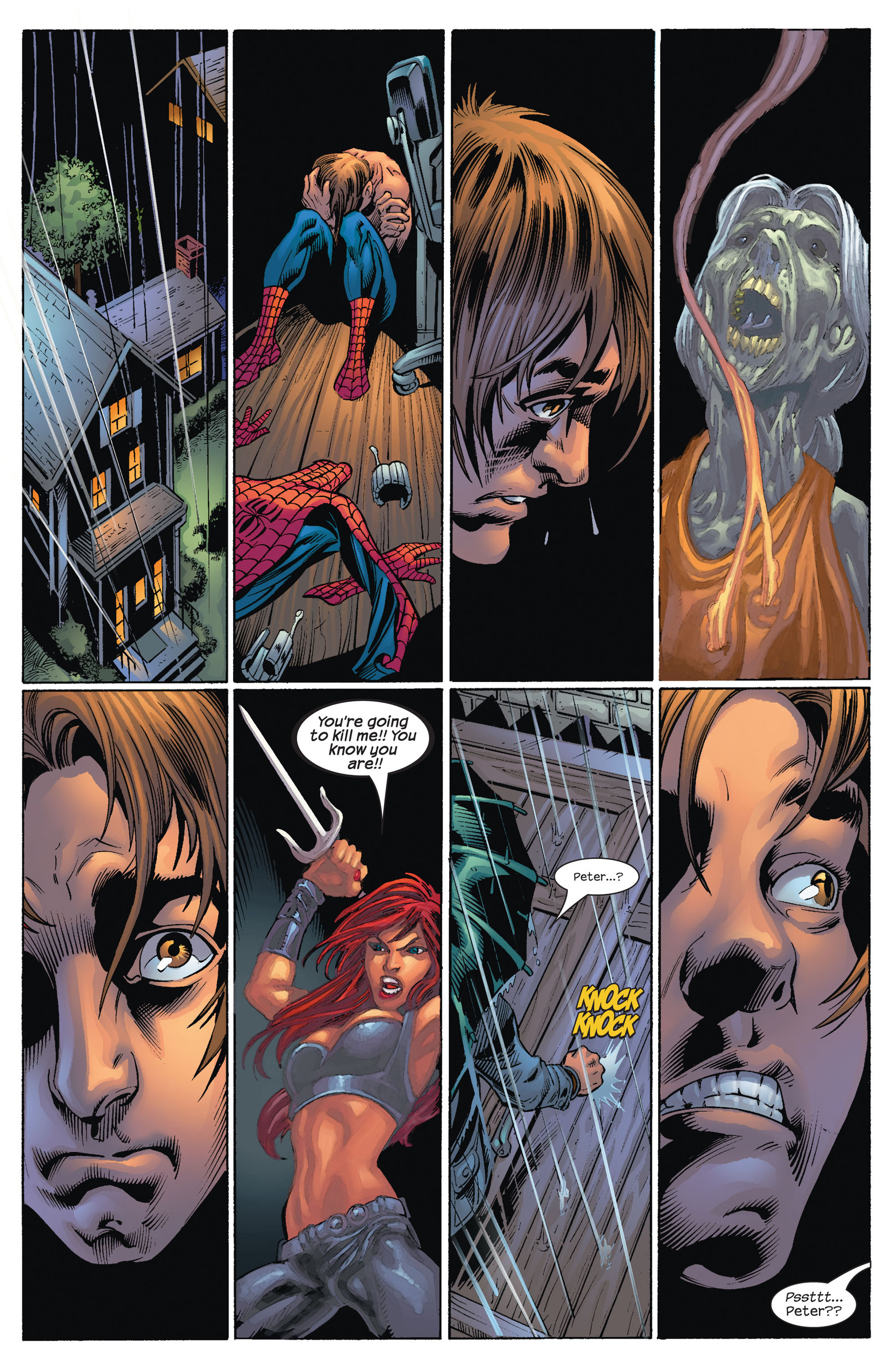 Read online Ultimate Spider-Man (2000) comic -  Issue #71 - 24