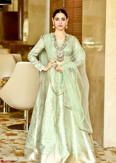 Tamannah Bhatia Stunning in Green Salwar Suit Amazing Beauty Ethnic Suit Feb 2017 04.jpg