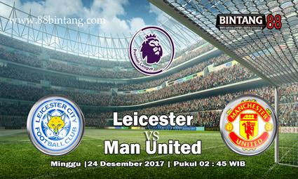 Prediksi Leicester City vs Manchester United 24 Desember 2017