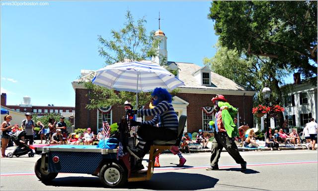 Payasos Desfile 4 de Julio Bristol