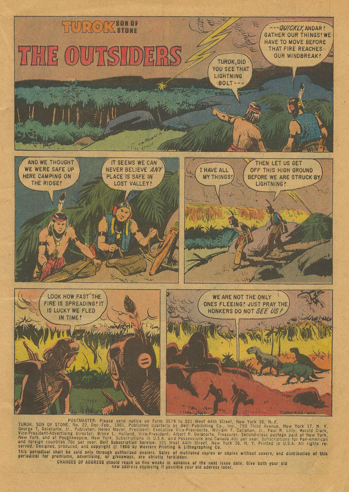 Read online Turok, Son of Stone comic -  Issue #22 - 3