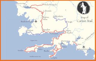 alinda antik şehri haritası ile ilgili görsel sonucu