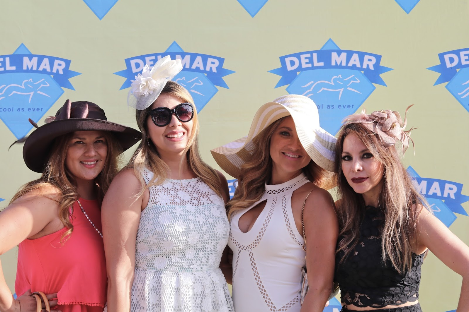 Opening Day at the Del Mar Racetrack 2016 friends, Opening Day at the Del Mar Racetrack 2016 girls, Opening Day at the Del Mar Racetrack 2016 fashion