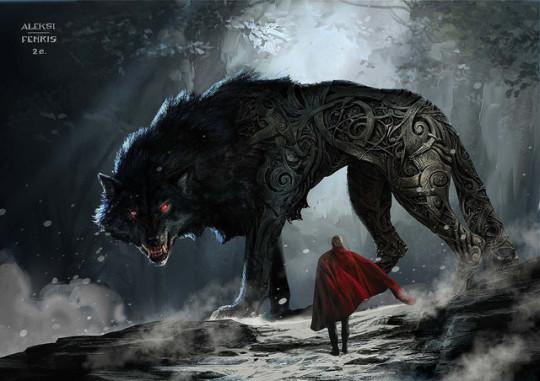 snafu thor ragnarok fenrir so this is the wolf