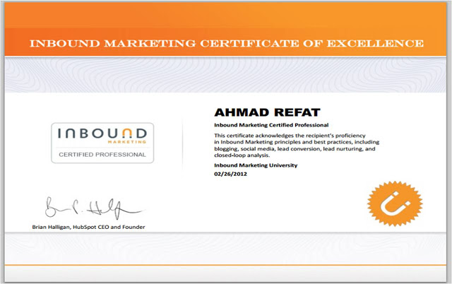 Inbound Marketing - Certified Professional Certificate