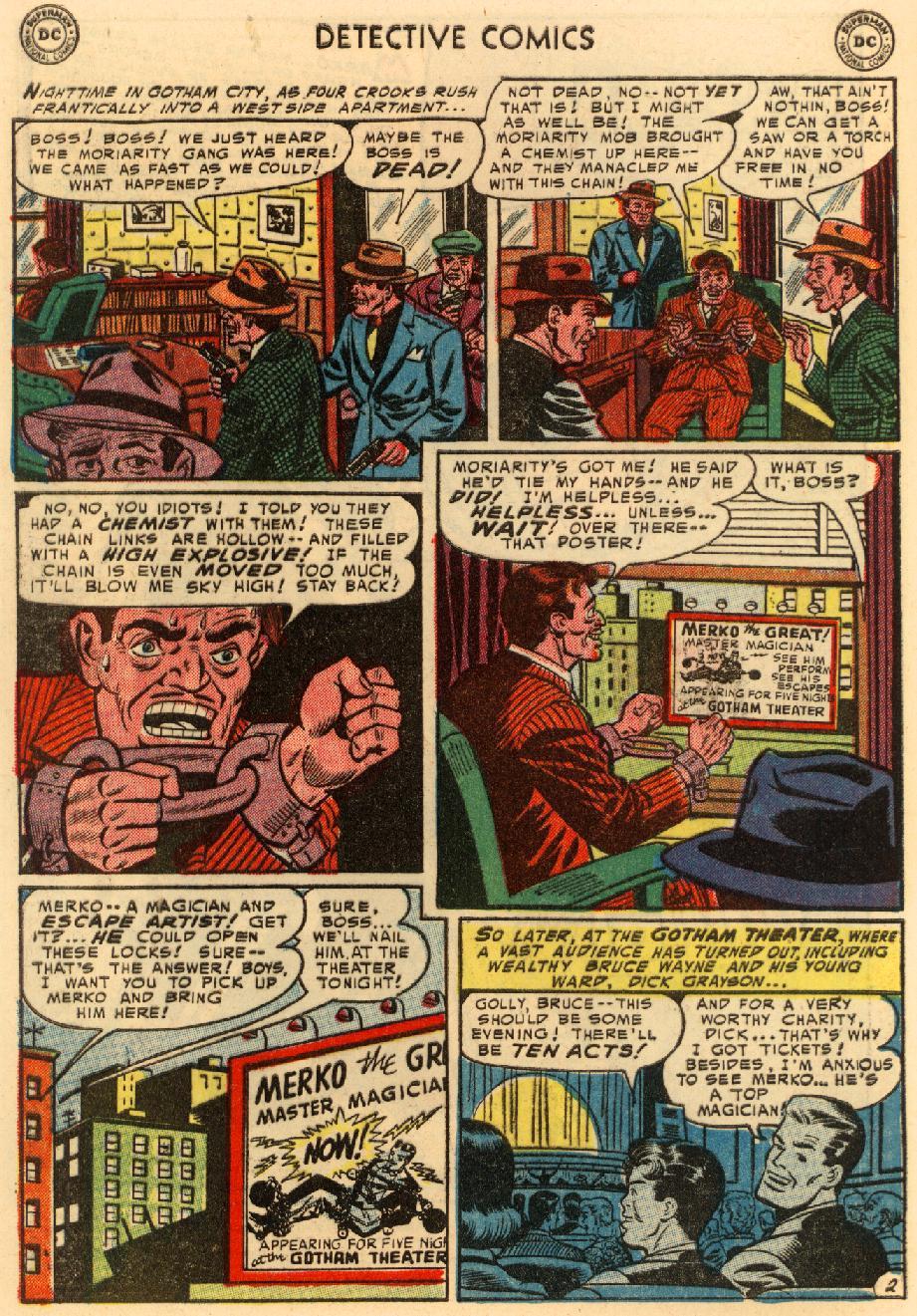Detective Comics (1937) 207 Page 2