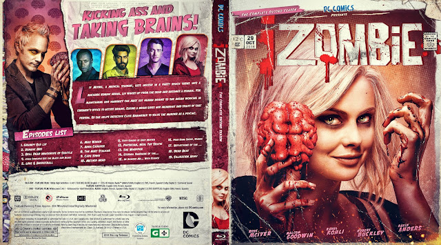 IZombie Season 2 Bluray Cover