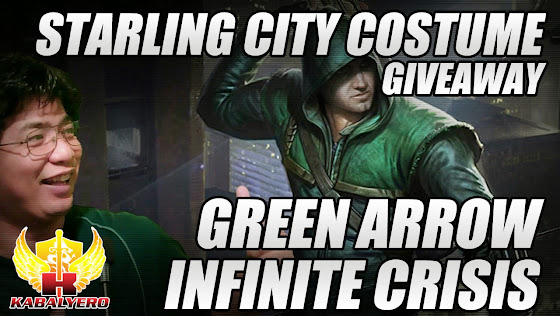 Green Arrow, Starling City Costume Giveaway, Infinite Crisis