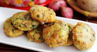 Resep cara mudah membuat perkedel kentang gurih dan renyah krispy