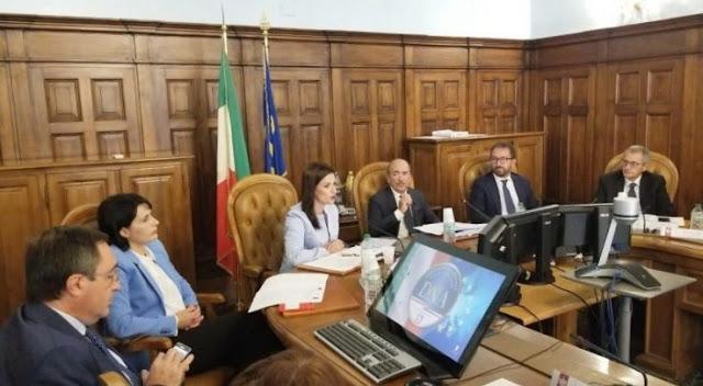 Gjonaj e Marku si incontrano con il procuratore italiano di antimafia