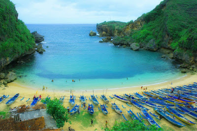 pantai tersembunyi di Jogja, pantai tersembunyi di Jogjakarta, pantai di jogja