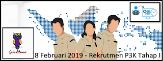 8 Februari 2019 - Rekrutmen P3K Tahap I