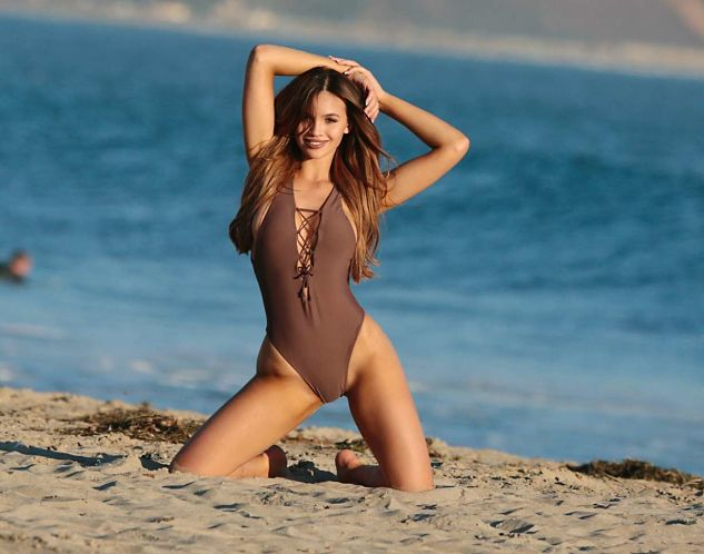 Sammy Mitchell in Swimsuit – Photoshoot in Malibu