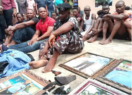 Fake Police Commissioner Apprehended By Real Police Officers