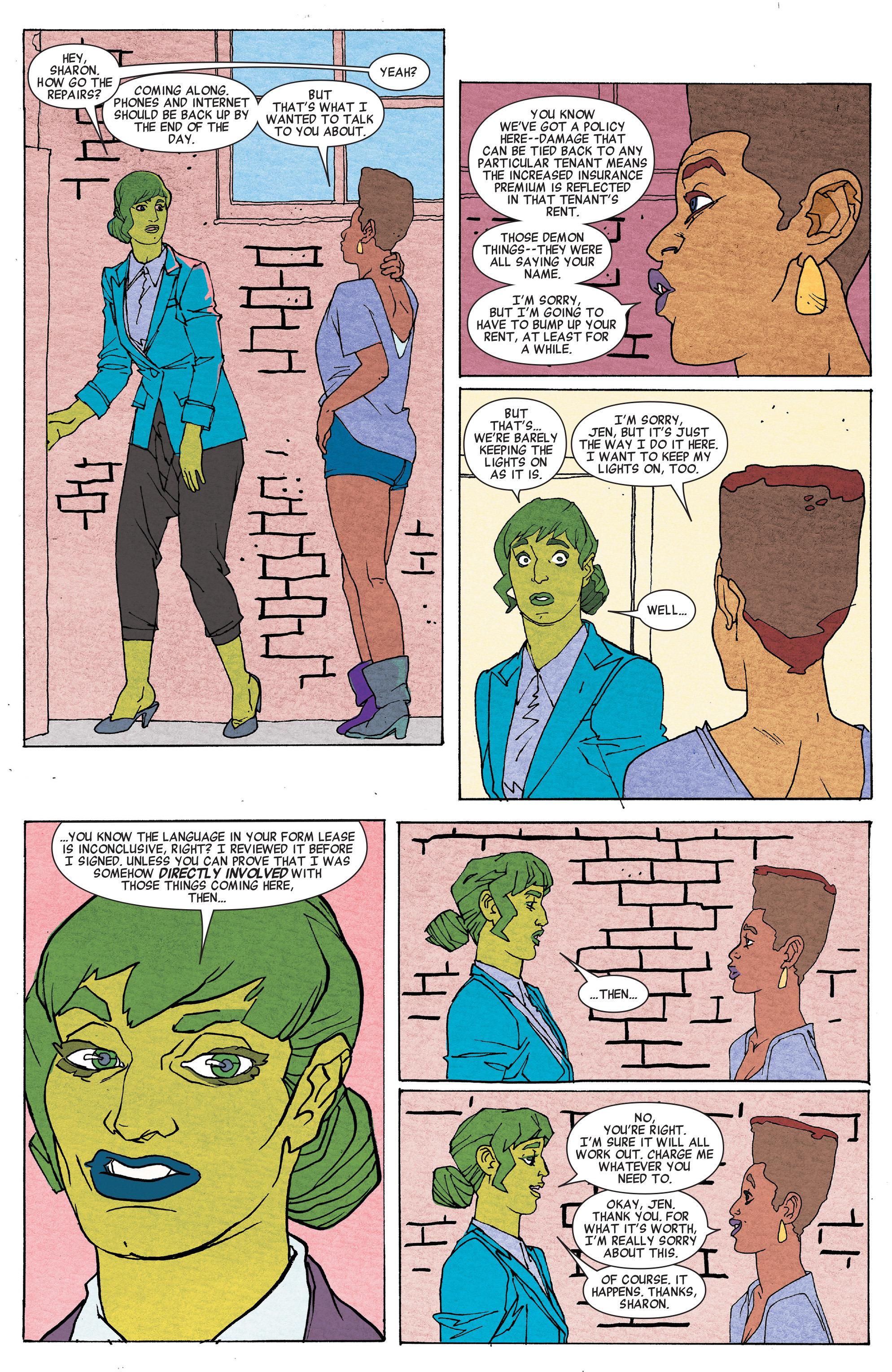Read online She-Hulk (2014) comic -  Issue #6 - 14