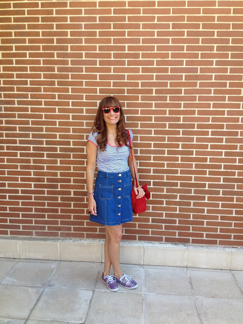 falda vaquera denim skirt