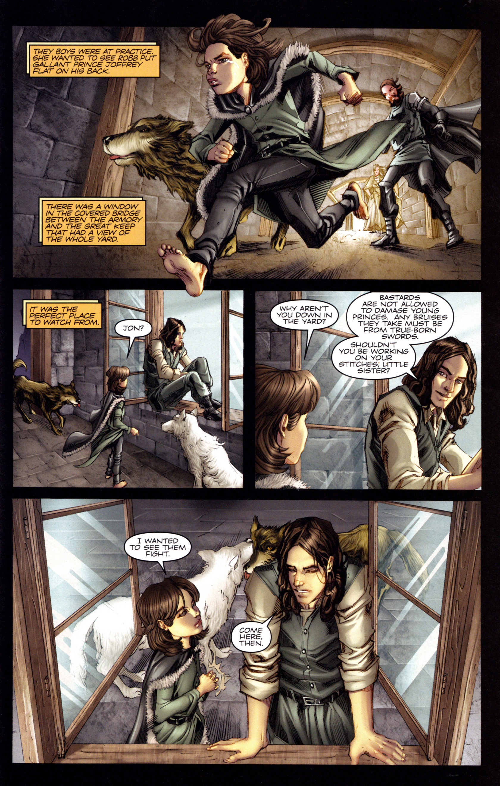 Read online A Game Of Thrones comic -  Issue #3 - 7
