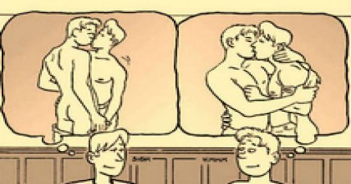 Ανέκδοτο: Δύο ομοφυλόφιλοι στο αεροπλάνο που πετάει νύχτα…