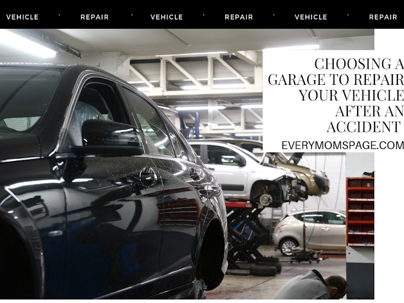 Choosing a Garage to Repair Your Vehicle After an Accident