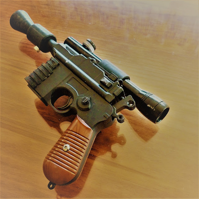 Mercenary Garage - Han Solo DL44 Blaster Replica