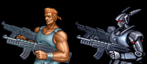 Imagen: Probotector (NES)