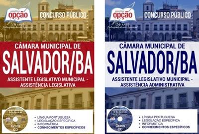 Apostila concurso Câmara de Salvador BA 2017/2018