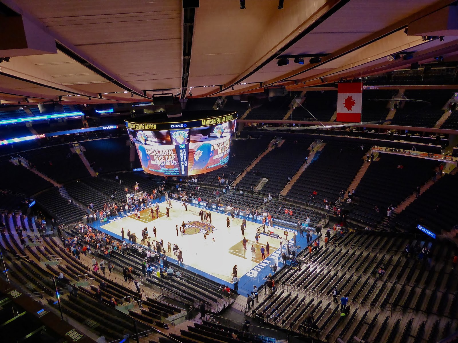 Madison Square Garden: Sports Road Trips: Los Angeles Clippers 109 At New York