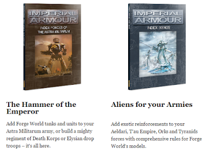 New Imperial Armour Indexes From Forgeworld Astra Militarum Xenos