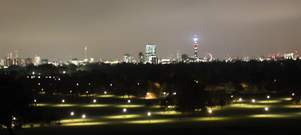 Travel London Tour Primrose Hill Ausblick